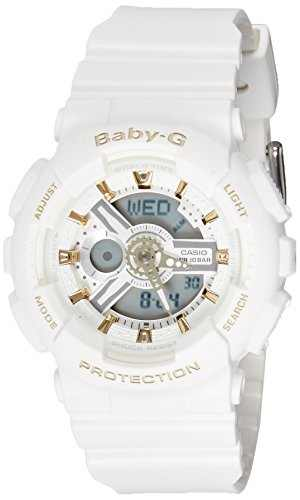 Casio Baby-G BA-110GA-7A1DR (B160) Analog Digital Grey Dial Women's Watch (BA-110GA-7A1DR (B160))