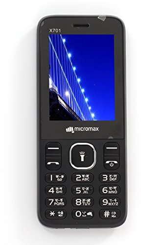 Micromax X701 Black Mobile