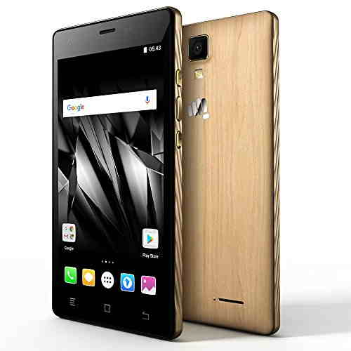 Micromax Canvas 5 Lite Q463 (Micromax Q463) 16GB Brown Mobile