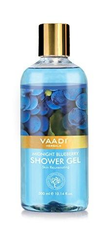 Vaadi Herbals Midnight Blueberry Shower Gel, 300 ML