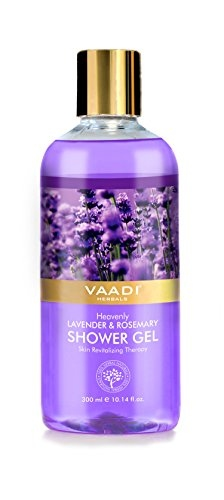Vaadi Herbals Heavenly Lavender & Rosemarry Shower Gel, 300 ML