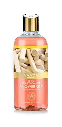 Vaadi Herbals Divine Honey & Sandal Shower Gel, 300 ML