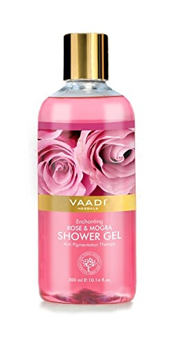 Vaadi Herbals Enchanting Rose & Mogra Shower Gel, 300 ML