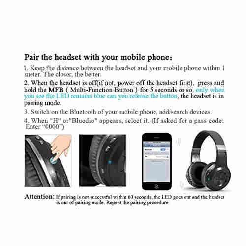 Bluedio HTW01 H-Turbine Shooting Brake Bluetooth Headset