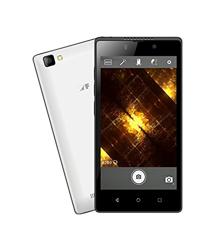 LYF Flame 8 (8 GB, 1 GB RAM) White Mobile