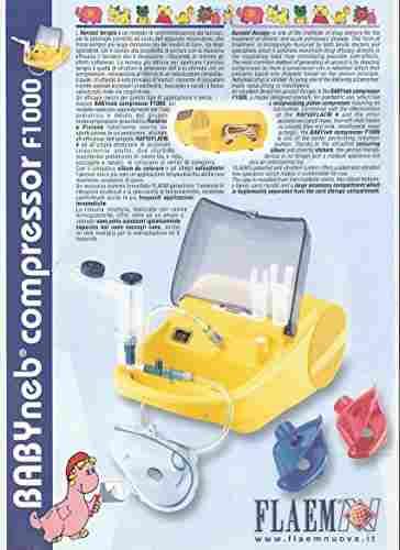 Flaemnuova Comfort Series F400 Nebulizer