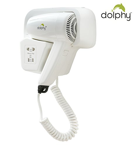 Dolphy HD001 Professional Wall mounted Hair Dryer