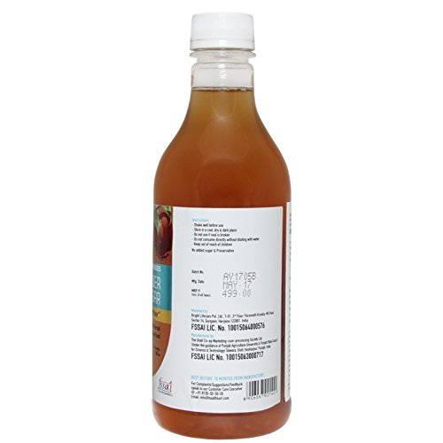 Healthkart Apple Cider Vinegar With Mother (0.5 L Unflavoured)