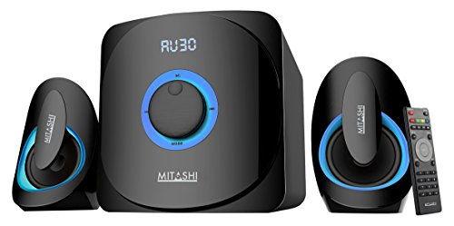 Mitashi HT 5060 BT 2.1 Channel Wireless Multimedia Speakers