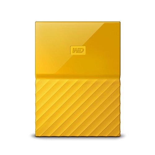 WD WDBYFT0020BYL My Passport 2 TB Portable External Hard Drive Yellow