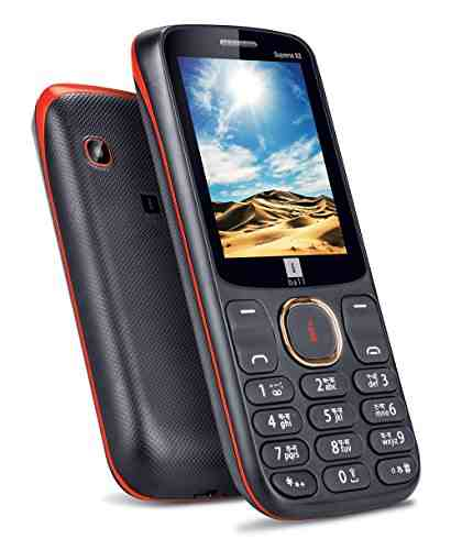 IBall Supremo Big 2.4D Dual Sim Black Gold Mobile