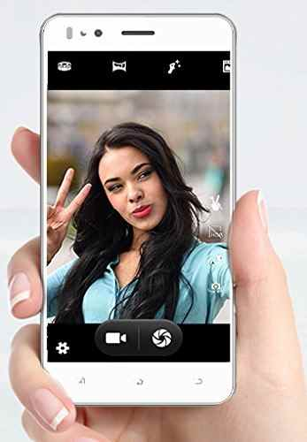 Micromax Bolt Selfie Q424 8GB White Mobile