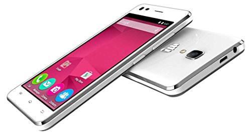 Micromax Bolt Selfie Q424 (Micromax Q424) 8GB White Mobile