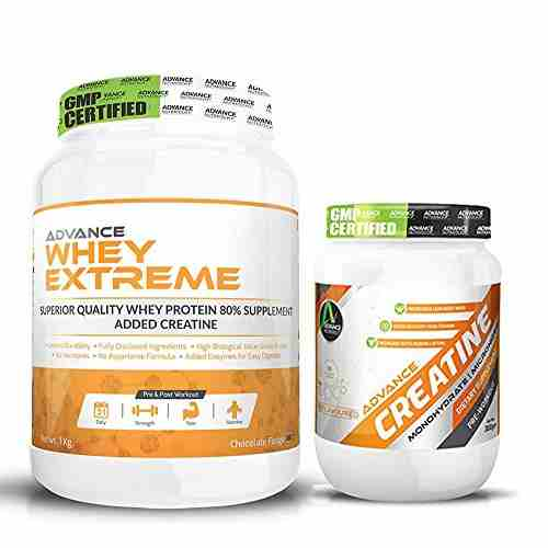 Advance Nutratech Combo Of Whey Extreme Protein Powder (1Kg, Chocolate Fudge)