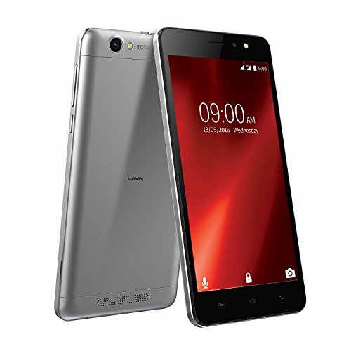 Lava X28 8GB Grey Mobile