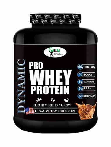 World Nutrition Dynamic Pro Whey Protein Powder (2.27Kg, Chocolate)