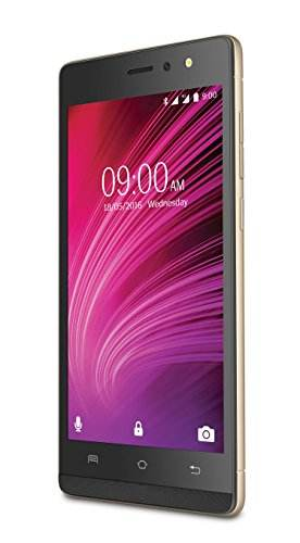 Lava A97 8GB ROM 1GB RAM Gold Mobile