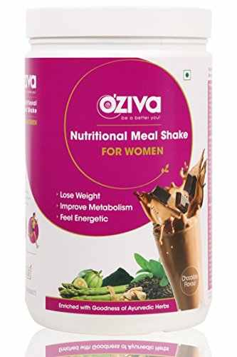 O'Ziva Nutritional Meal Shake For Women (1Kg, Chocolate)