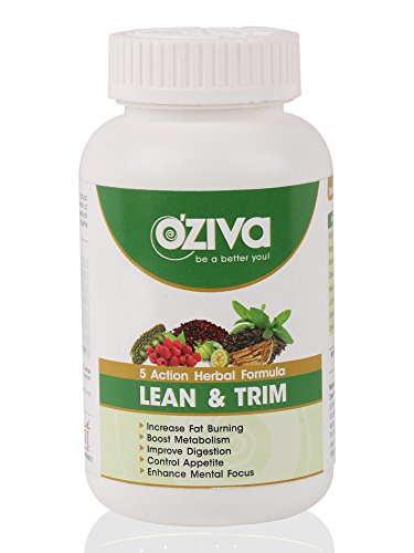O'Ziva Lean And Trim Fat Burner Supplement (120 Tablets)