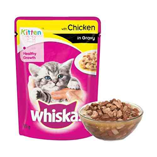 Whiskas Meal Chicken Cat Food (1.2kg, Pack of 12)