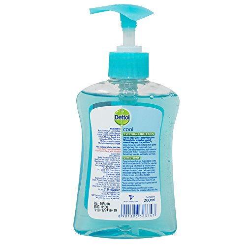 Dettol Cool Liquid Hand Wash, 200 ML