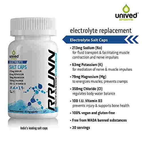 Unived Rrunn Electrolyte Salt Supplement (30 Capsules)