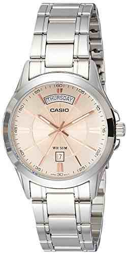 Casio Enticer MTP-1381D-9AVDF (A1132) Analog Rose Gold Dial Men's Watch (MTP-1381D-9AVDF (A1132))
