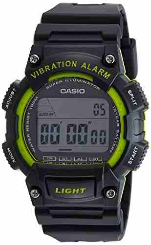 Casio Youth W-736H-3AVDF (I104) Digital Black Dial Men's Watch (W-736H-3AVDF (I104))