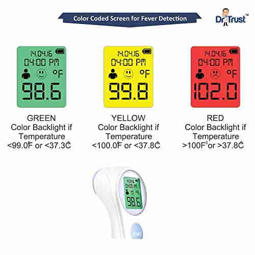 Dr. Trust NEC-112 Infrared Thermometer