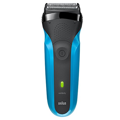 Braun 310s Series 3 Rechargeable Wet and Dry Electric Shaver Blue