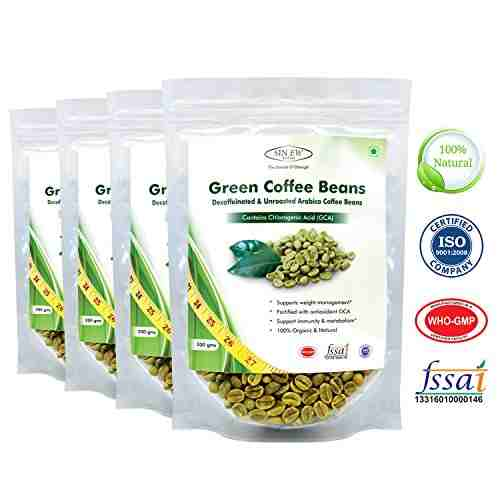 Sinew Nutrition Green Coffee Beans (200gm, Coffee)