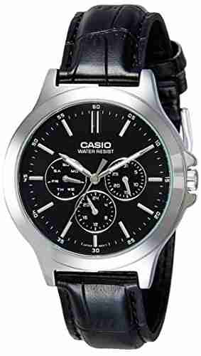 Casio MTP-V300L-1AUDF (A1176) Analog Black Dial Men's Watch (MTP-V300L-1AUDF (A1176))