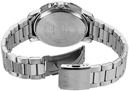 Casio Enticer MTP-E130D-1A1VDF (A1163) Analog Black Dial Men's Watch