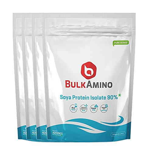 Advance Nutratech Bulk Amino Soya Protein Isolate 90% Powder 500gm