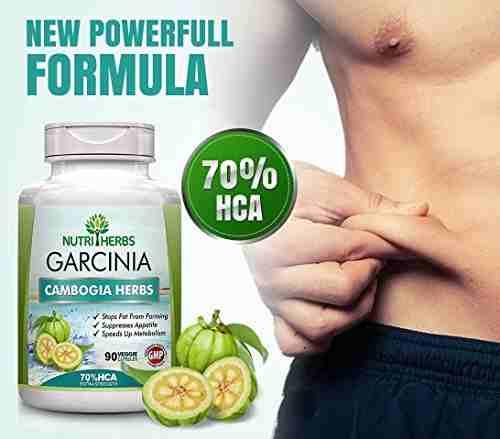 NutriHerbs Garcinia Cambogia Herbs Supplement (90 Capsules)