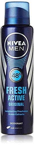 Nivea Fresh Active Original 48 Hours Deodorant, 150 ml