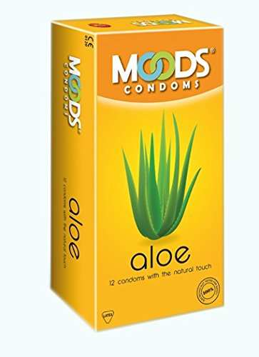 Moods Aloe, 1500 Dots And Absolute Xtasy Condoms (36 Condoms)