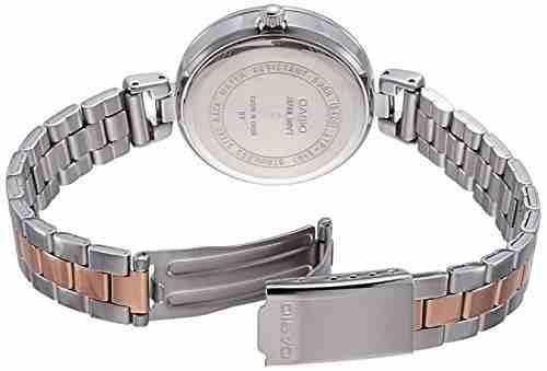 Casio Enticer LTP-E407BPG-7AVDF (A1144) Ladies Analog White Dial Women's Watch
