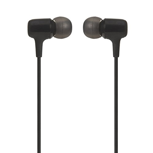 JBL E15 With Mic In The Ear Earphones, Black
