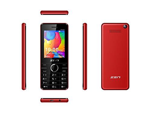 ZEN Z10 Sleek Red Mobile