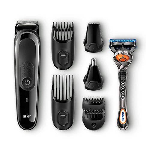 Braun MGK3060 8 in 1 Multi Grooming & Trimmer Kit Black