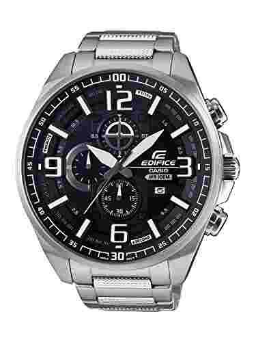 Casio Edifice EFR-555D-1AVUDF (EX343) Analog Black Dial Men's Watch