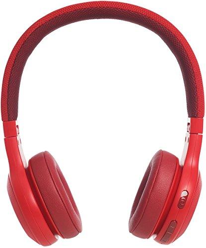 JBL E45BT Bluetooth Earphone, Red