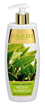 Vaadi Herbals Superbly Smoothing With Green Tea Extracts Heena Shampoo 350ml