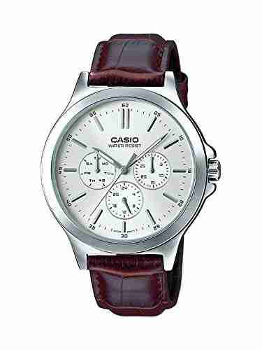 Casio MTP-V300L-7AUDF (A1177) Analog White Dial Men's Watch