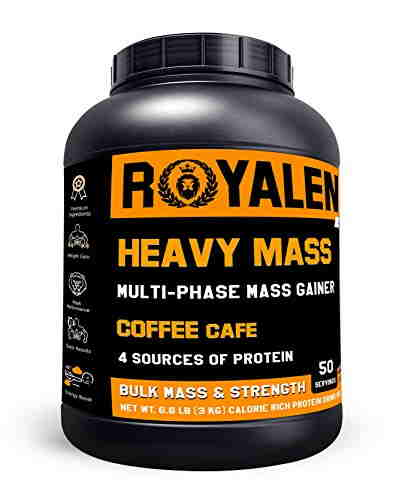 Royalent Heavy Mass Protein (3Kg, Coffee)