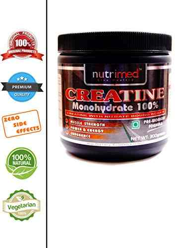 Nutrimed Creatine Monohydrate Dietary Supplement (300gm)