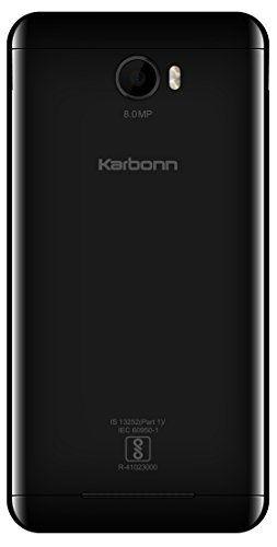 Karbonn K9 Viraat Matt Black Mobile