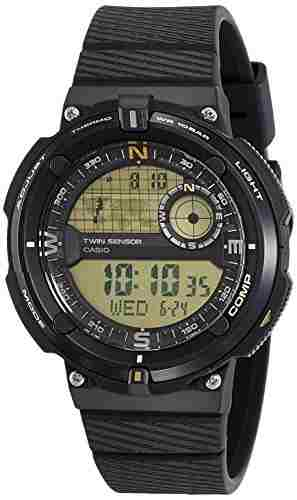 Casio Outdoor SGW-600H-9ADR (D140) Digital Black Dial Men's's Watch (SGW-600H-9ADR (D140))