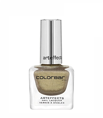Colorbar CAN025 Art Effects Nail Lacquer, Gold Tease 025